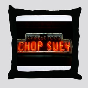 Chop Suey!! Throw Pillow
