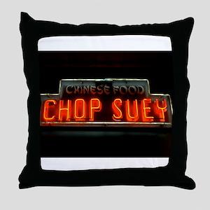Chop Suey!! Throw Pillow