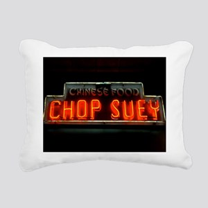 Chop Suey!! Rectangular Canvas Pillow