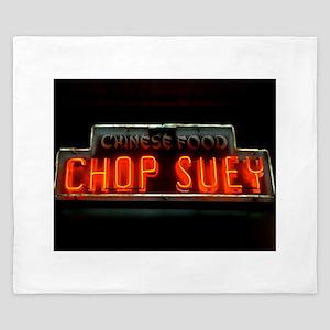 Chop Suey!! King Duvet
