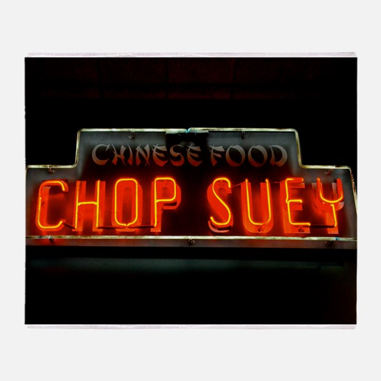 Chop Suey!! Throw Blanket