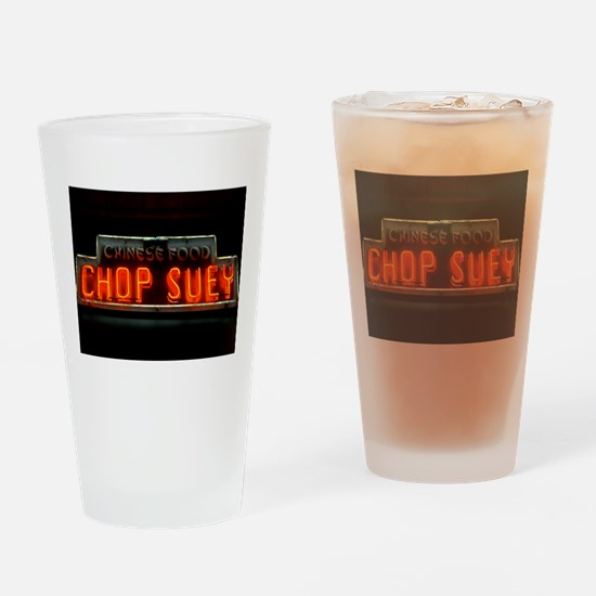Chop Suey!! Drinking Glass