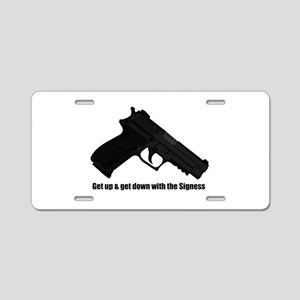 P226 Navy Mk25 - The Aluminum License Plate