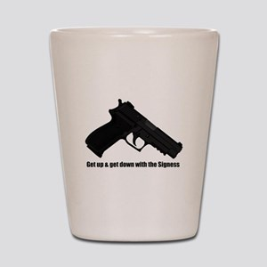 P226 Navy Mk25 - The Signess Shot Glass