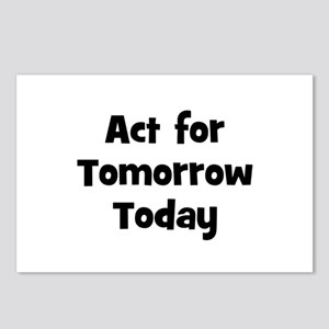 Act for Tomorrow Today    Postcards (Package of 8)