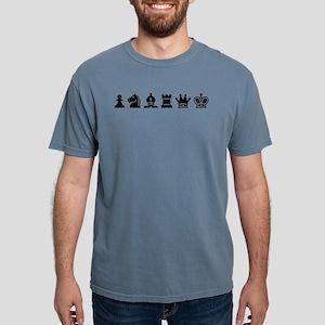- Chess Symbols BLACK T-Shirt