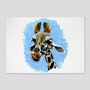 Giraffe 5'x7'Area Rug