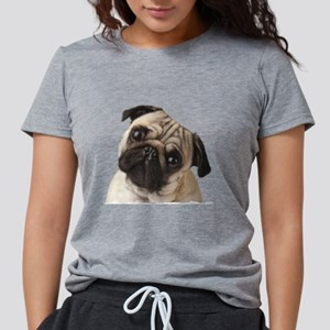 Pug Oil Painting Face T-Shirt