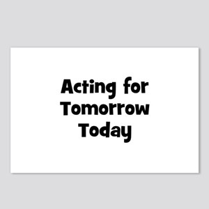 Acting for Tomorrow Today Postcards (Package of 8)