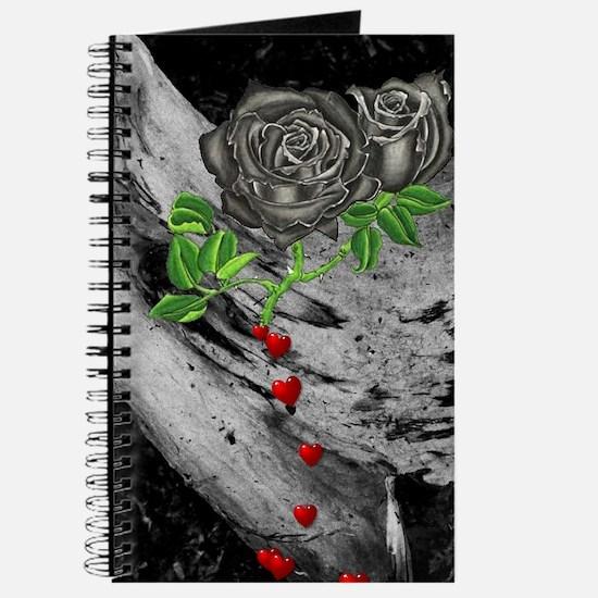 Black Rose Of Love Journal