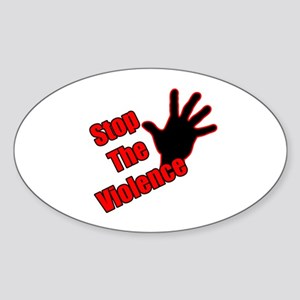 Stop the the violence 1-2 Sticker