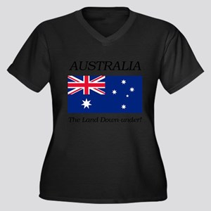 Australian Flag Plus Size T-Shirt