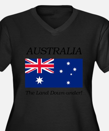 Australian Flag Plus Size T-Shirt