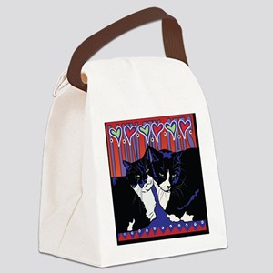 I love my Tuxedo Cats Canvas Lunch Bag