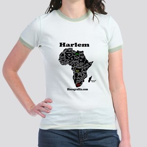 Afrika Harlem Women's Cap Sleeve T-Shirt