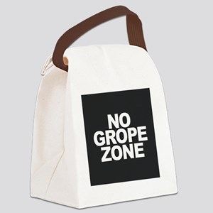 NO GROPE ZONE Canvas Lunch Bag