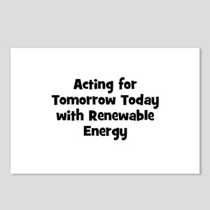 Acting for Tomorrow Today wit Postcards (Package o