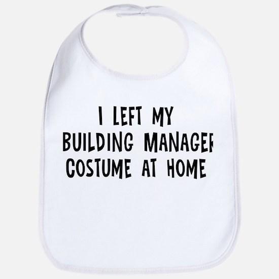 Left my Building Manager Bib