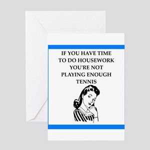 Tennis funny greeting cards cafepress tennis greeting cards m4hsunfo