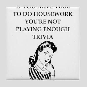 trivia Tile Coaster