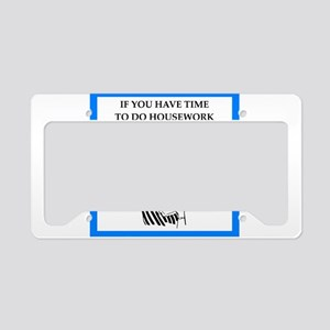 pinochle License Plate Holder