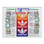 AAA Hemp Wall Calendar