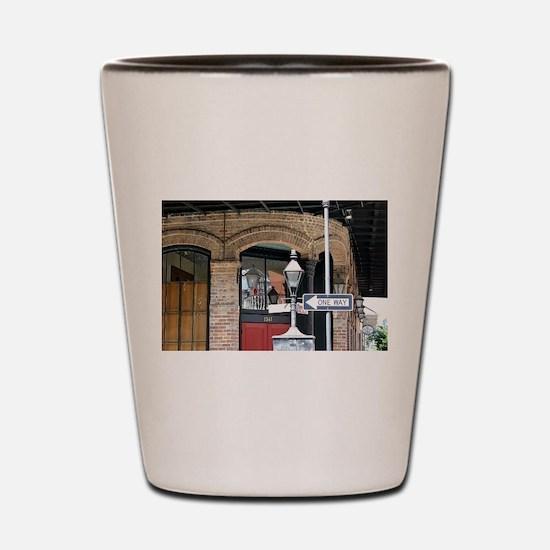 French Quarter Corner Shot Glass