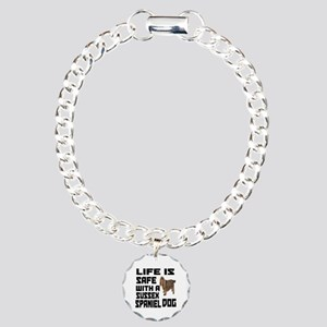 Life Is Safe With A Suss Charm Bracelet, One Charm