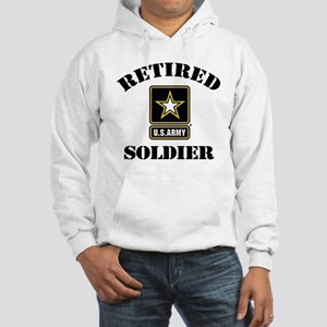 Retired U.S. Army Soldier Hooded Sweatshirt