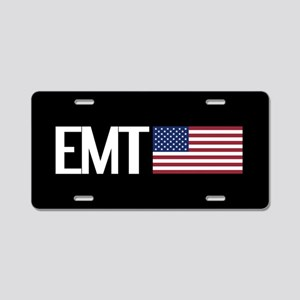 EMT: American Flag Aluminum License Plate