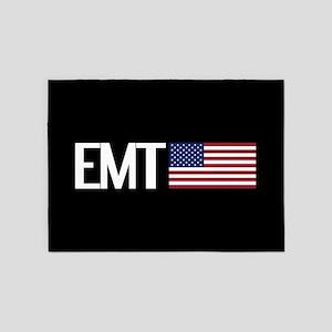 EMT: American Flag 5'x7'Area Rug