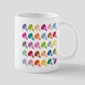 Colorful BadmintonShuttles Mugs