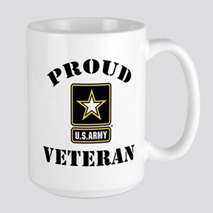 Proud U.S. Veteran Large Mug