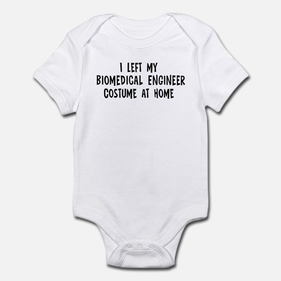 Left my Biomedical Engineer Infant Bodysuit