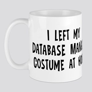 Left my Database Manager Mug