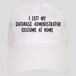 Left my Database Administrato Cap