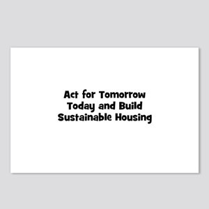 Act for Tomorrow Today and Bu Postcards (Package o