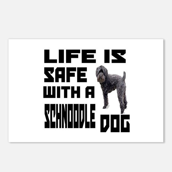Life Is Safe With A Schno Postcards (Package of 8)