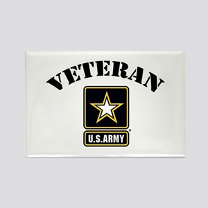 Veteran U.S. Army Rectangle Magnet