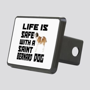 Life Is Safe With A Saint Rectangular Hitch Cover