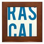 Rascal Framed Tile