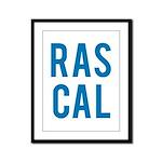 Rascal Framed Panel Print
