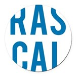 Rascal Round Car Magnet