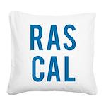 Rascal Square Canvas Pillow