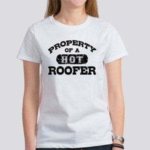 Property of a Hot Roofer Women's T-Shirt