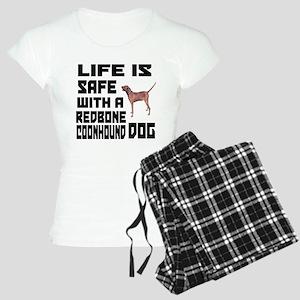 Life Is Safe With A Redbone Women's Light Pajamas