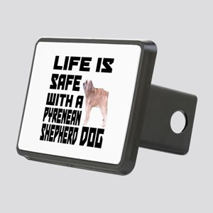 Life Is Safe With Pyrenean Rectangular Hitch Cover
