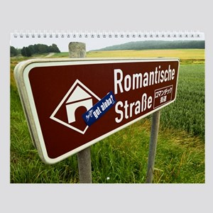 Romantic Road Wall Calendar