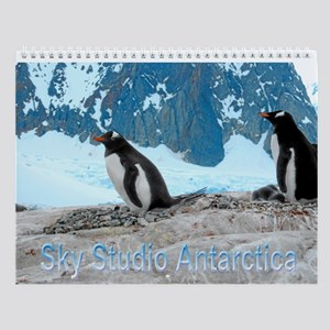 Antarctic Penguins Wall Calendar