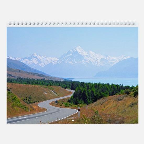 New Zealand South Island Wall Calendar